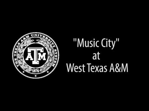 Music City at West Texas A&M