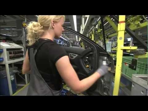 Mercedes 2012 C-Class Production Bremen