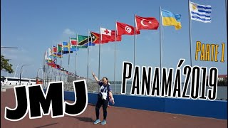 JMJ Panamá 2019 Vlog Parte 1 | RoMa´s Journey #Travel