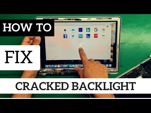 A1466 Macbook Air Cracked Backlight Film Panel White Spot Fix Reaplacement With A1278 Lcd Donor