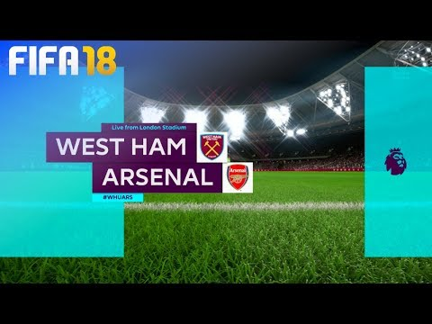 FIFA 18 - West Ham United vs. Arsenal @ London Stadium