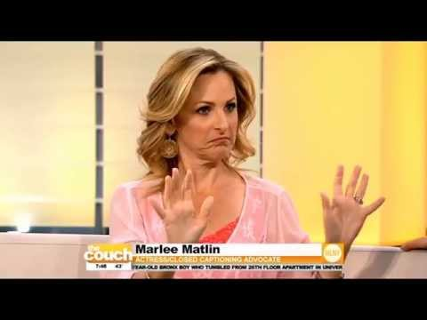 Marlee Matlin Visits The Couch