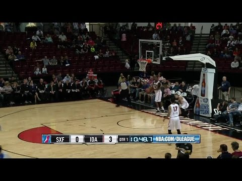 Larry Drew posts 21 points, 10 assists & 11 rebounds vs. the Stampede, 3/28/2015
