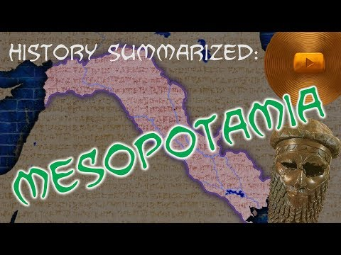 History Summarized: Mesopotamia — The Bronze Age