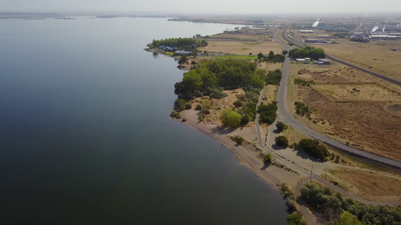 Boardman Marina Campground & Columbia River Drone Flight