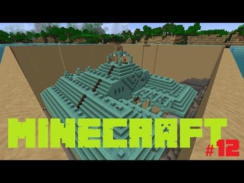 Let's Play MINECRAFT #012 | Tempel Trocken Legen [St 4] [FullHD]