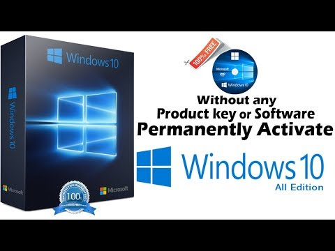 Permanently Activate Windows 10 Without Any Software or Product Key |2017| legal method & virus free