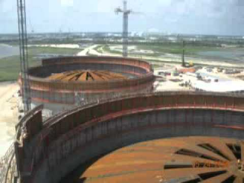Gulf Lng Facility Construction Youtube