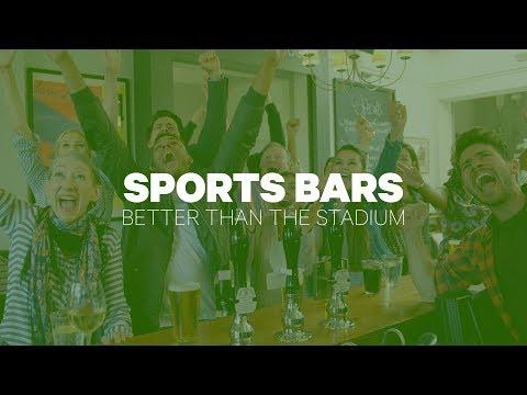 Sports Bars: Better Than The Stadium