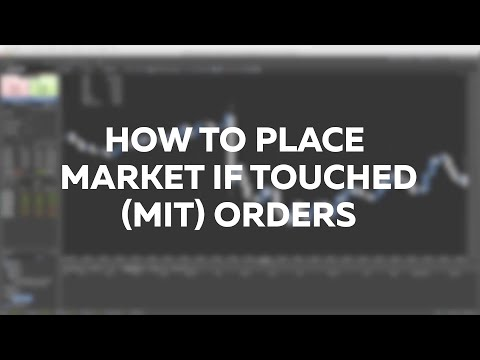 Tutorial #How to place market if touched (MIT) orders thumbnail