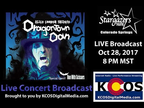 Dragontown Dan's Halloween Party LIVE Broadcast 10-28-17