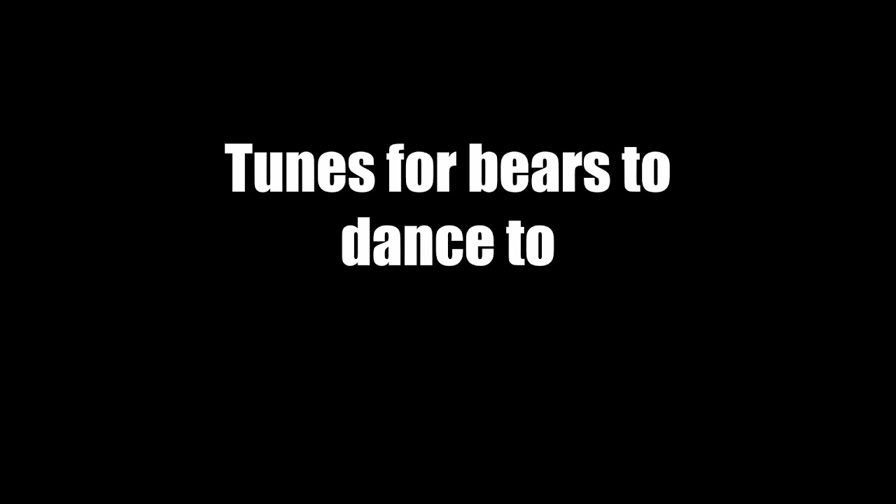 Tunes For Bears To Dance Untitled Unreleased