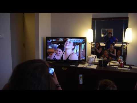 Une famille suisse à la TV japonaise: LIVE ON TV!!!!!!!
