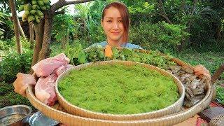 Yummy Wakame Seaweed Salad - Wakame Salad - Cooking with Sros