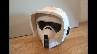 Как сделать шлем штурмовика скаута 3 часть| how to make scout trooper helmet part 3