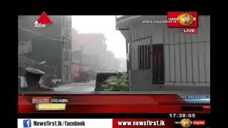 BREAKING NEWS: Bomb explodes in Kotahena while STF was defusing it