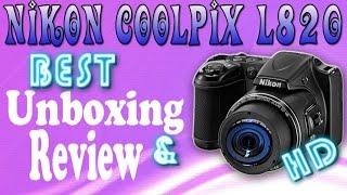 NIKON COOLPIX L820 - BEST REVIEW amp UNBOXING IN HD
