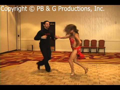 Liz Lira teaching Salsa on 1 Partnering 2011 SF Salsa Congress (OFFICIAL VIDEO)