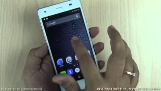 intex aqua ace india unboxing quick review camera features