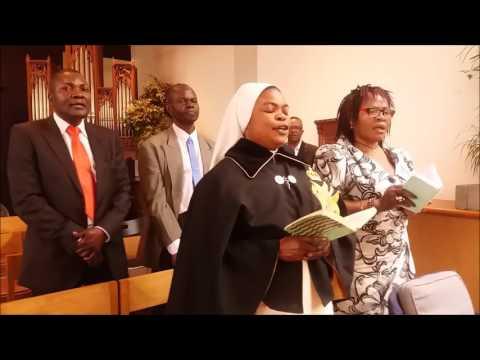 Messe special  Ya commencement Ya nouveau Zaïre President Christian Malanga et ses officies