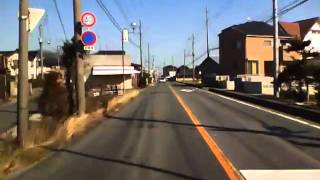 埼玉県道415号 01 柳生停車場線 麦倉→柳生駅