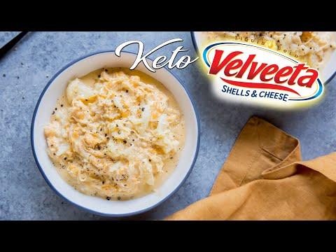 Velveeta Style Keto Mac and Cheese | Liquid Gold!