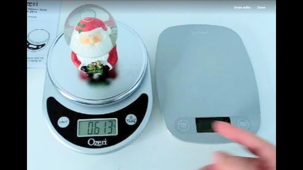 Black Ozeri ZK14-S Pronto Digital Multifunction Kitchen and Food Scale