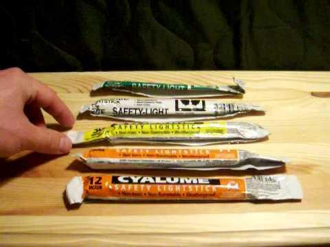 Chem Light Stick Test
