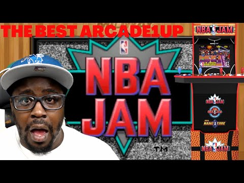 #nbajam #arcade1up NBA JAM is the BEST Arcade1up to date! from Video Game Votary