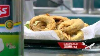 سمك مكرونة مقلي مع ارز بالشبت - موزة بالشعرية | الشيف حلقة كاملة