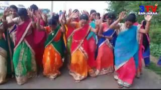 Banjara Girls Rocking Dance Performance at Doosgam Teej Celebrations ! Nizamabad // 3TV BANJARAA