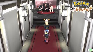 Pokemon Let Go Eevee 2 Players Playthrough ( Mega Evolution & Viridian Gym )!