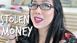 THEY STOLE MY MONEY! - April 28, 2017 -  ItsJudysLife Vlogs