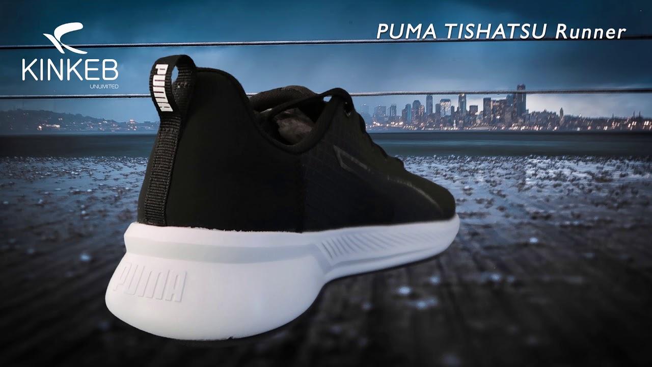puma tishatsu runner ladies trainers