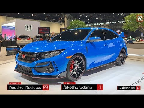 2020 Honda Civic Type R Redline First Look 2020 Chicago Auto Show Youtube