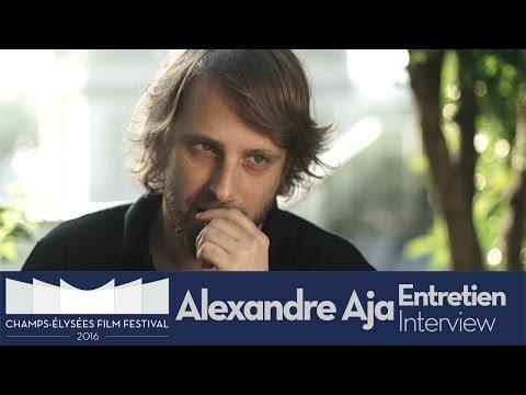 avec Alexandre Aja  ChampsÉlysées Film Festival