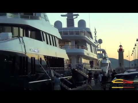 Super yachts of Saint-Tropez 2016!