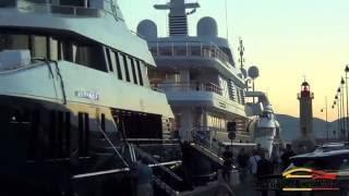 Super yachts of Saint-Tropez 2016!