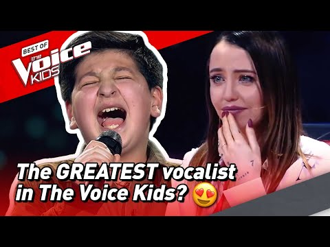 Is this 12-Year-Old the GREATEST vocalist of The Voice Kids