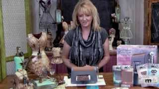 7-1 Spellbinders Media Mixage - How To Make Old World Style Copper Earrings With Patina