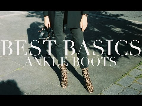 Testing Basics | Ankle Boots