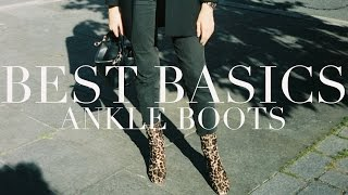 Testing Basics | Ankle Boots