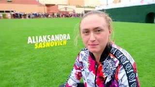 Bag Check: Aliaksandra Sasnovich
