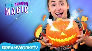 Instant Pumpkin Carving | JUNK DRAWER MAGIC