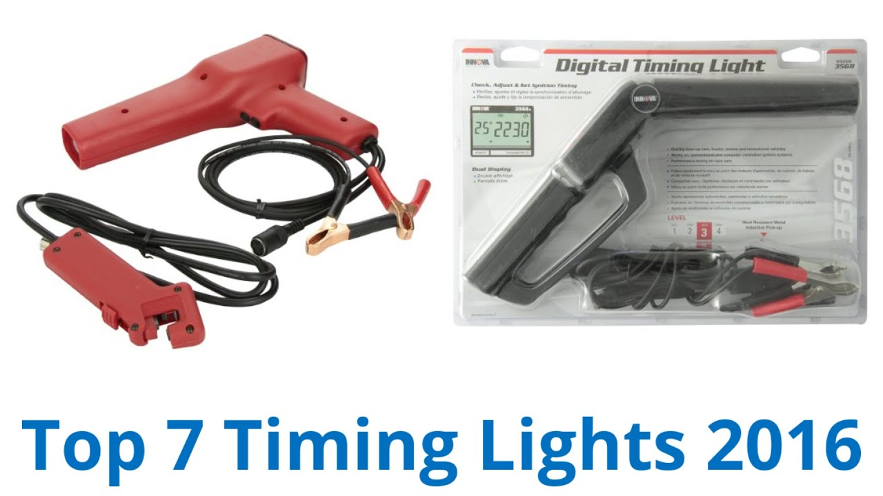 how to make a timing light