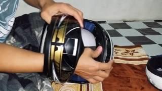 Melepas Styrofoam EPS Helm INK CL-Max