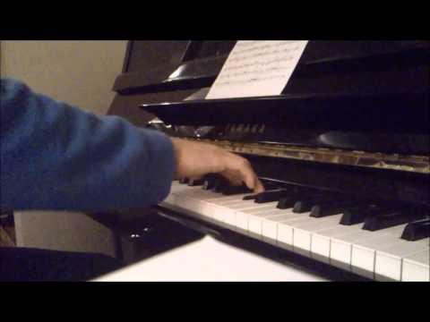 Lunapop - Vorrei (piano cover)