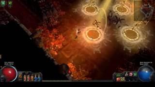 Deathless Atziri Kill - Bladefall Trapper