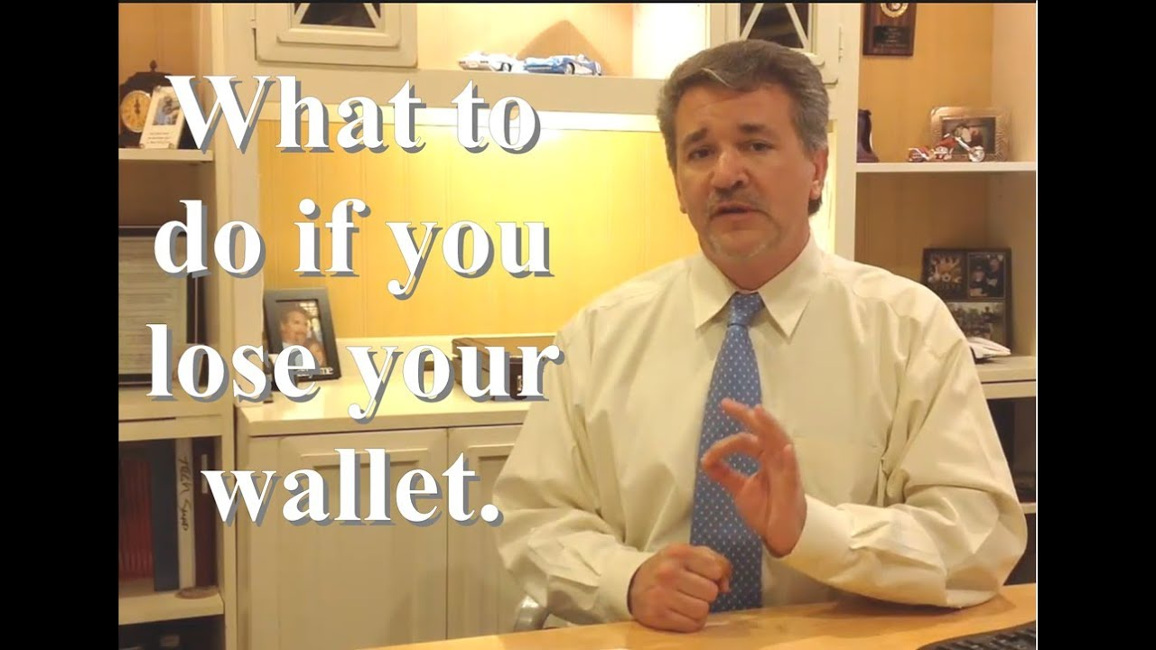 what to do before you lose your wallet youtube - I Lost My Job Now What What To Do When You Lose Your Job