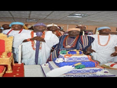 Birthday Oloffa | Oni, Elegusi, Buhari Omo Musa, Imam Offa And Sannu Sheu Celebrate With Oba Oloffa thumbnail
